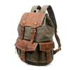 TURTLE RIDGE CANVAS BACKPACK