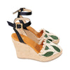 Espadrille Wedges Silvia Cobos Son Green