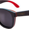 Recycled Skatedeck Ollie Black Sunglasses by WUDN