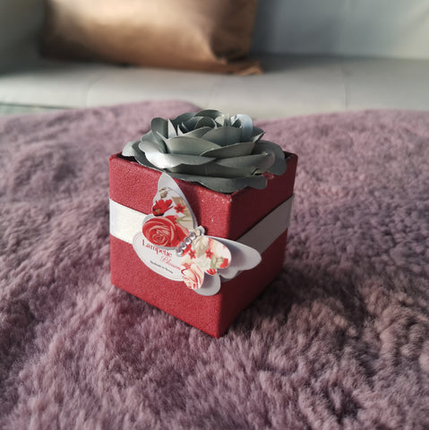 MINI BOX | BORDO RDEČA