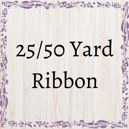 50 Yard Wired Ribbon