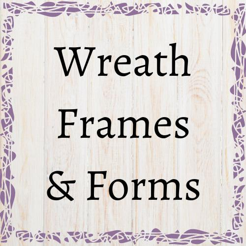 Wreath Frames & Forms