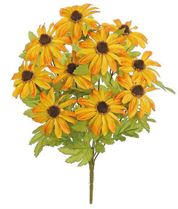 "RUDBECKIA BUSH X10, 19"", GOLD/YELLOW 3546-GOY"