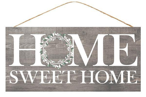 Home Sweet Home Grey 12.5