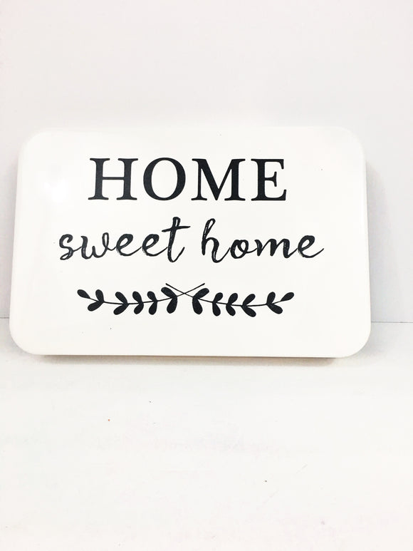 Home Sweet Home Metal Farmhouse Wall Decor