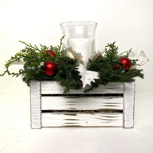 Winter Holiday Centerpiece