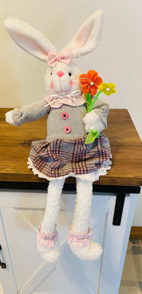 Budtime Bunny Dangle Leg Large  GIRL 61455