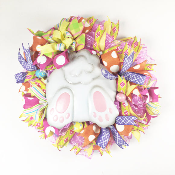 Easter Bunny Butt Wreath 24