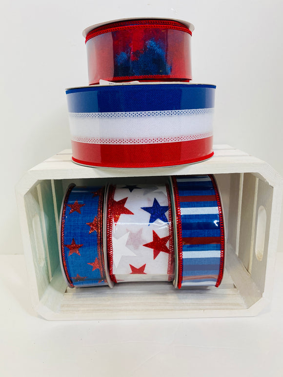 Stars & Stripes Ribbon Bundle PATR04