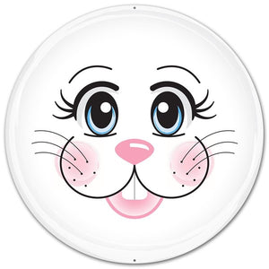 "12"" BUNNY FACE METAL MD0322"