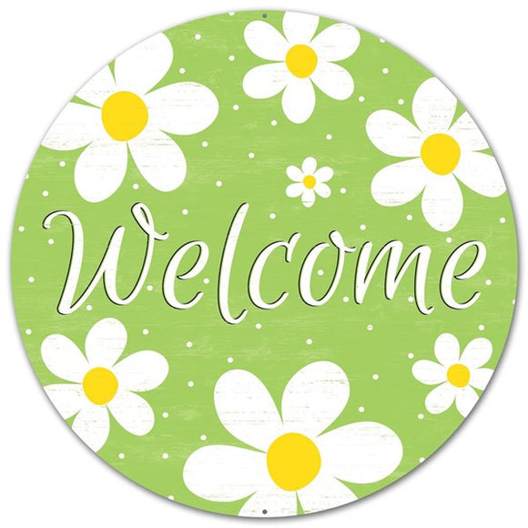Daisy Welcome Sign 12