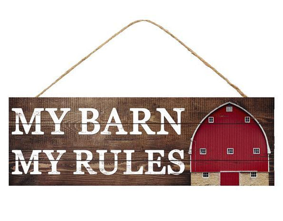 My Barn My Rules AP8100 15