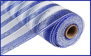 "10.25""X10YD Blue STRIPE MESH RE1316N6"