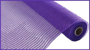 "10""X10yd Wide Foil Mesh RE136623 Purple"