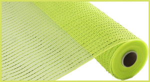 "10""X10yd Apple/Lime Wide Foil Mesh RE136671"