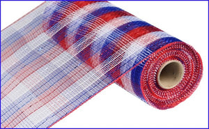 "10.25""X10YD METALLIC CHECK MESH RWB RE1370EX"