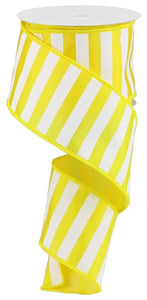 "2.5""X10YD Yellow MEDIUM HORIZONTAL STRIPE RG0177829"