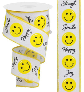 "2.5""X10yd Smiley Face RGA145827"