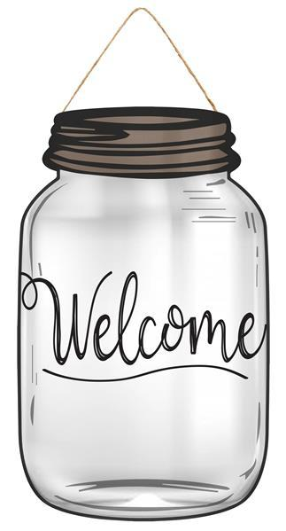Welcome Mason Jar 10
