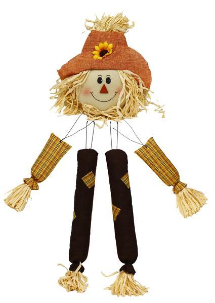 Scarecrow Decor Kit 5 Pc 31