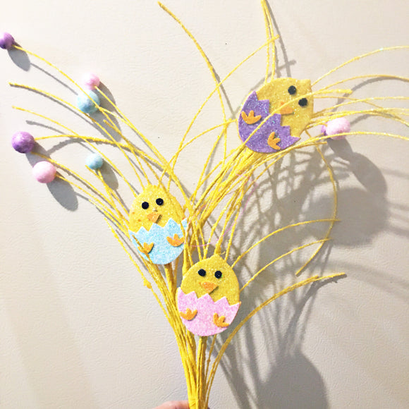 Easter Glitter Picks HE4109
