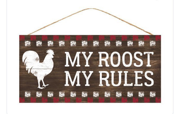 My Roost My Rules AP8462