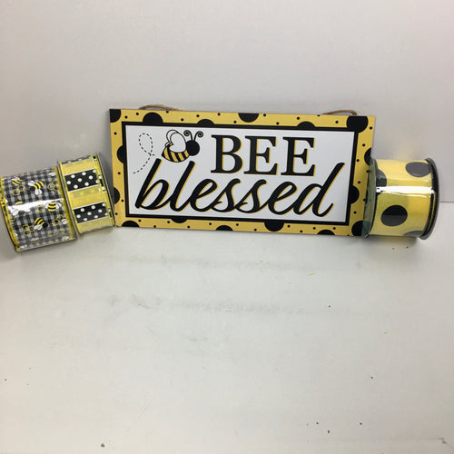 Bee Blessed w/Ribbon Kit