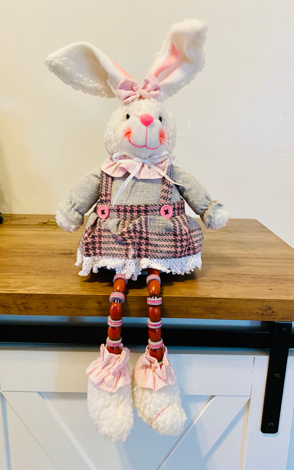 Budtime Bunny Dangle Leg Small GIRL 61458