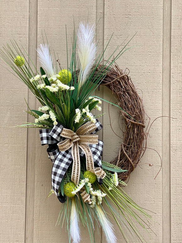 Best Front Door Grapevine Wreath