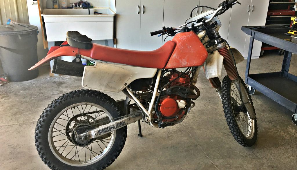 Honda XR250 Parts Just Added
