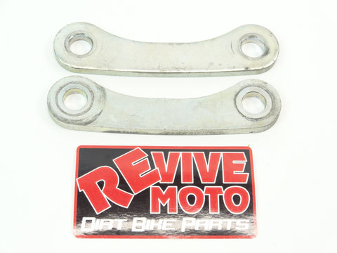 1999-2007 Honda CR80 CR85 Rear Shock Linkage Connecting Plates