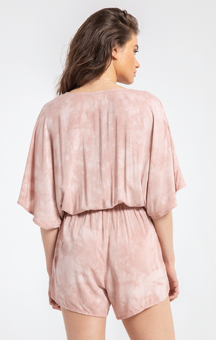 The Florencia Romper Adobe Rose