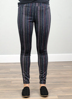 Pull On Legging-Steel Grey