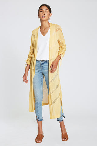 Canary Yellow Cardigan