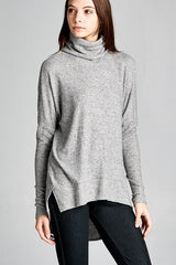 Heather Turtleneck Tunic