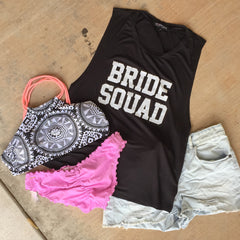 Bride Squad Muscle Tank