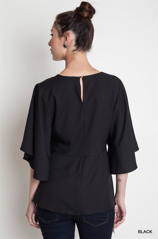 Black Betty Cape Top