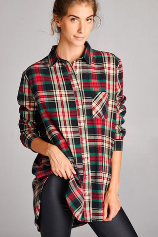 Perfect Flannel Top
