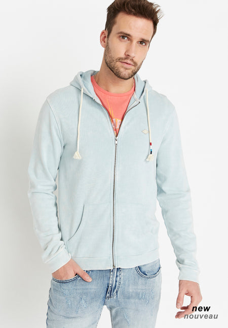 buffalo blue zip up hoody
