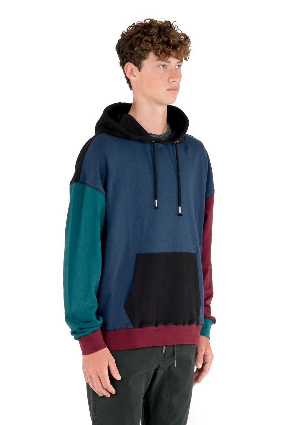 kuwalla tee color block hoody