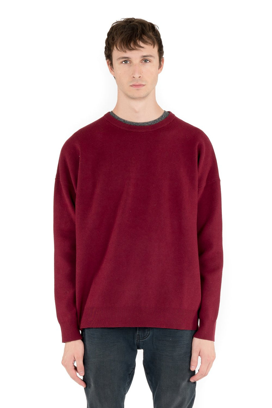 kuwalla tee stretch knitted crew port