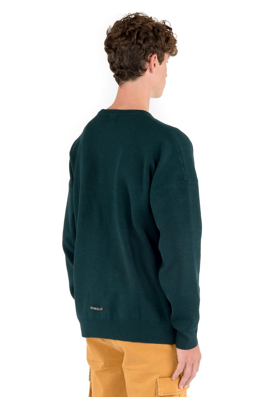 kuwalla tee stretch knitted crew spruce