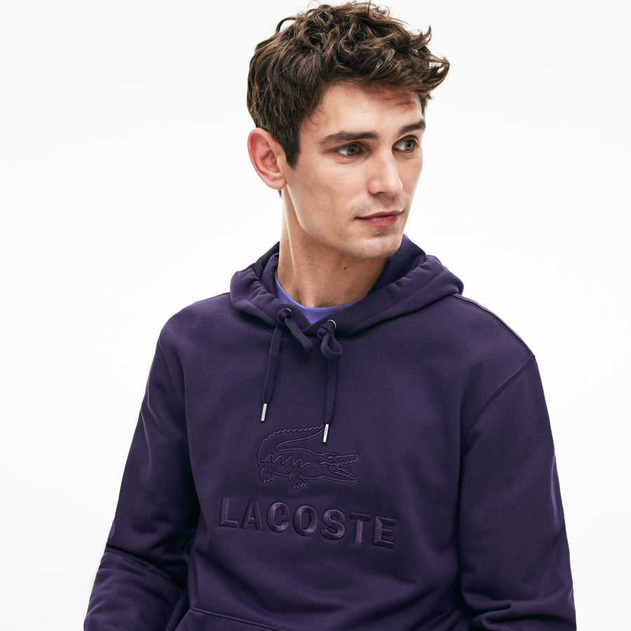 Lacoste Hooded Cotton Sweatshirt