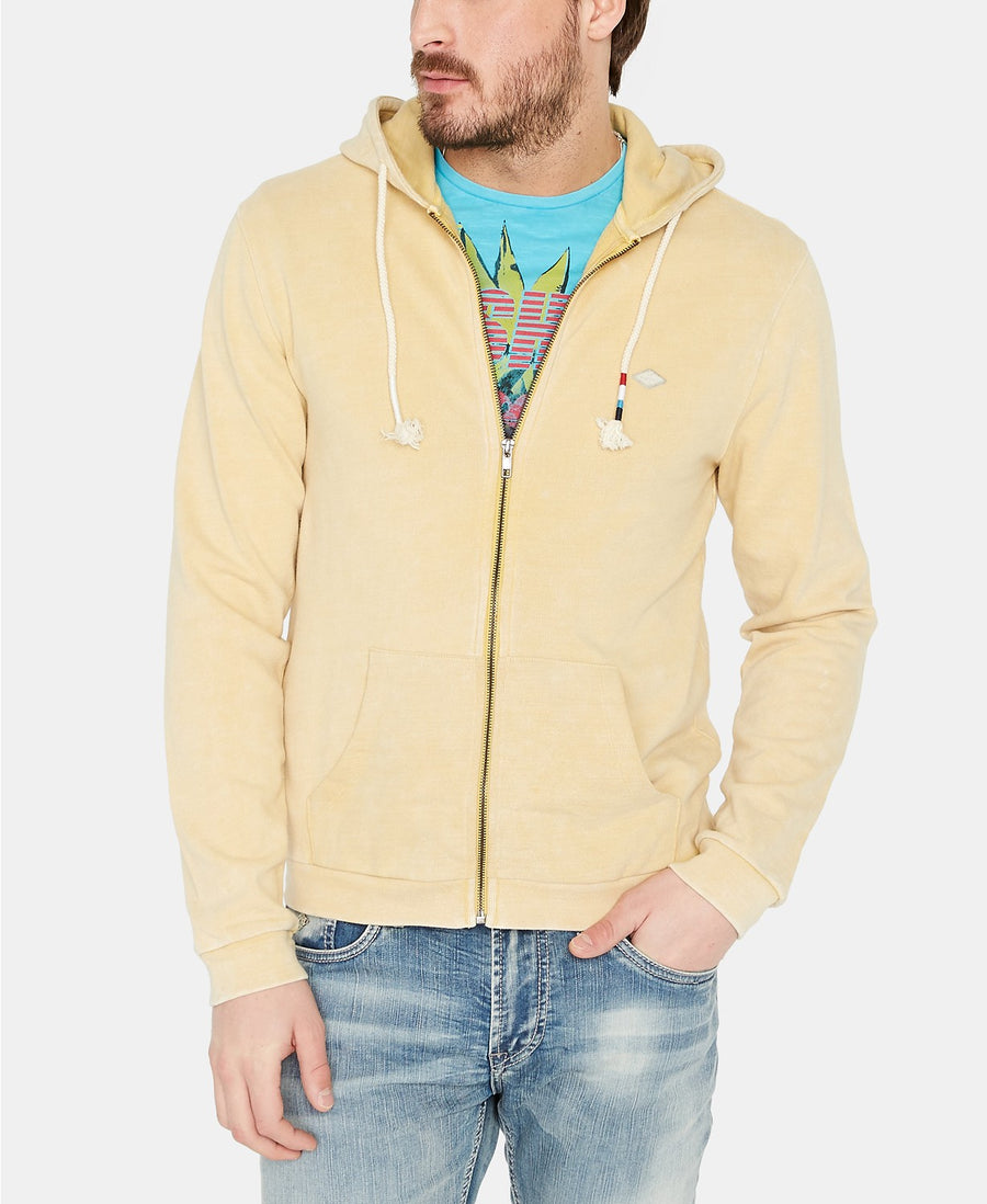 buffalo yellow zip up hoody