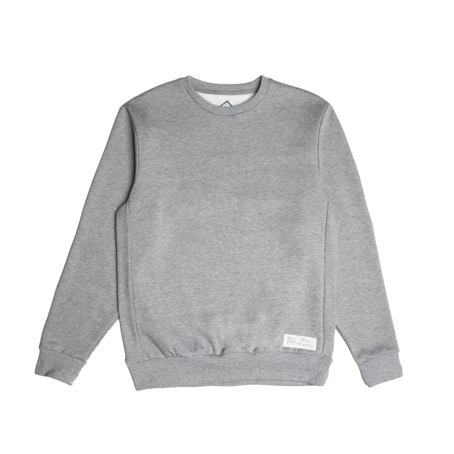 fairplay official crew sweater heather grey