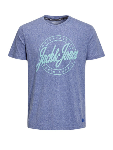 jack and jones blue tshirt