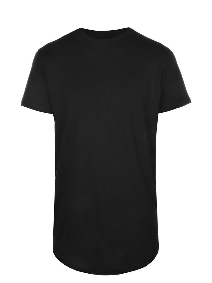 jack and jones noa long tee black