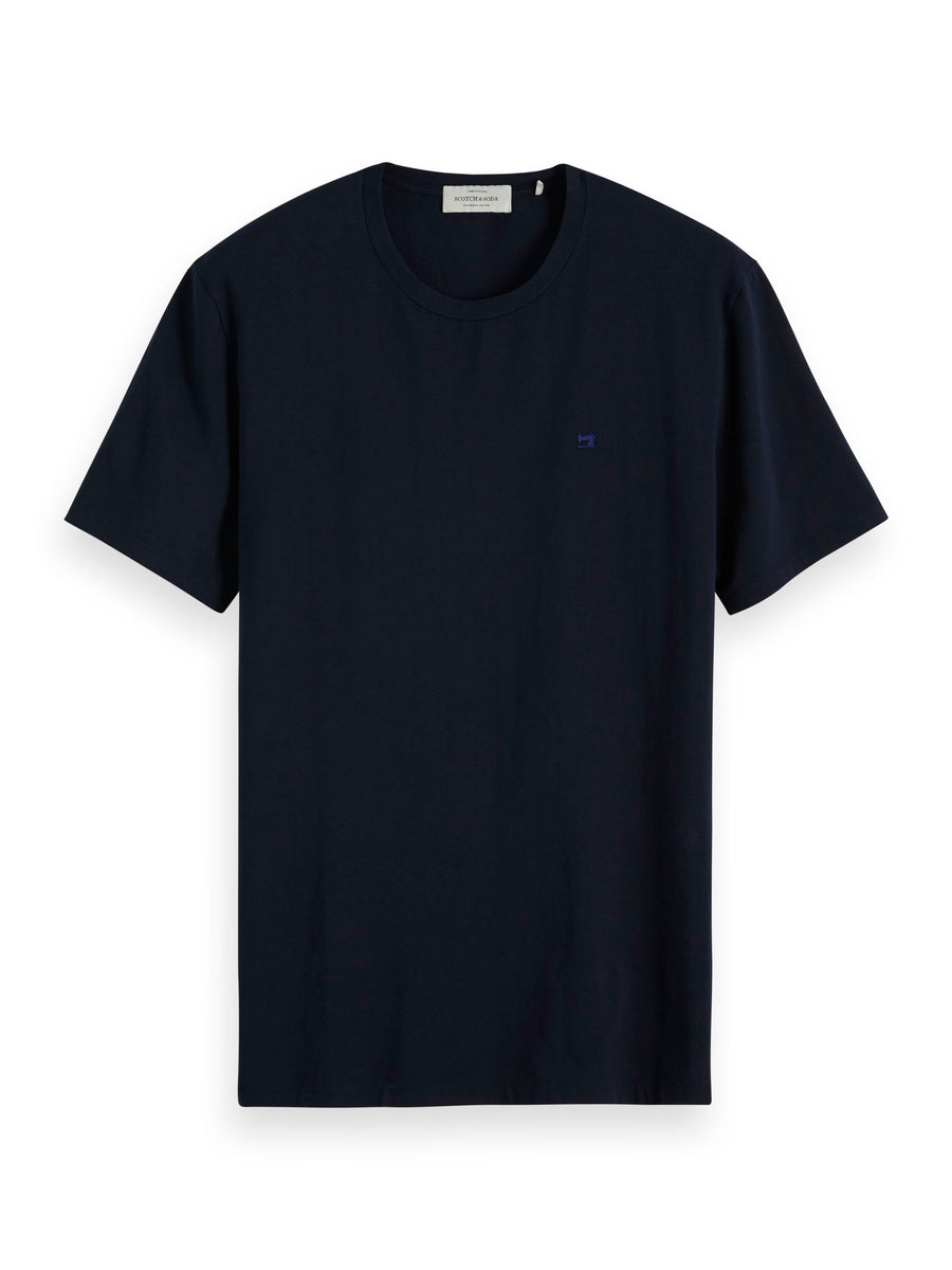 scotch & soda navy crew neck tshirt