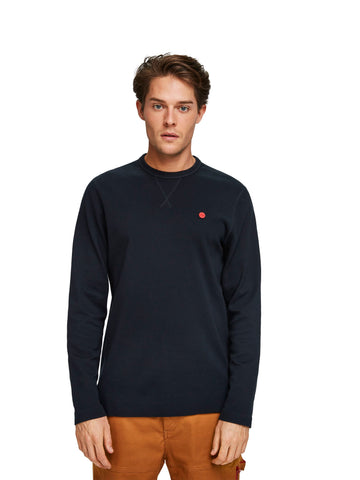scotch & soda navy long sleeve