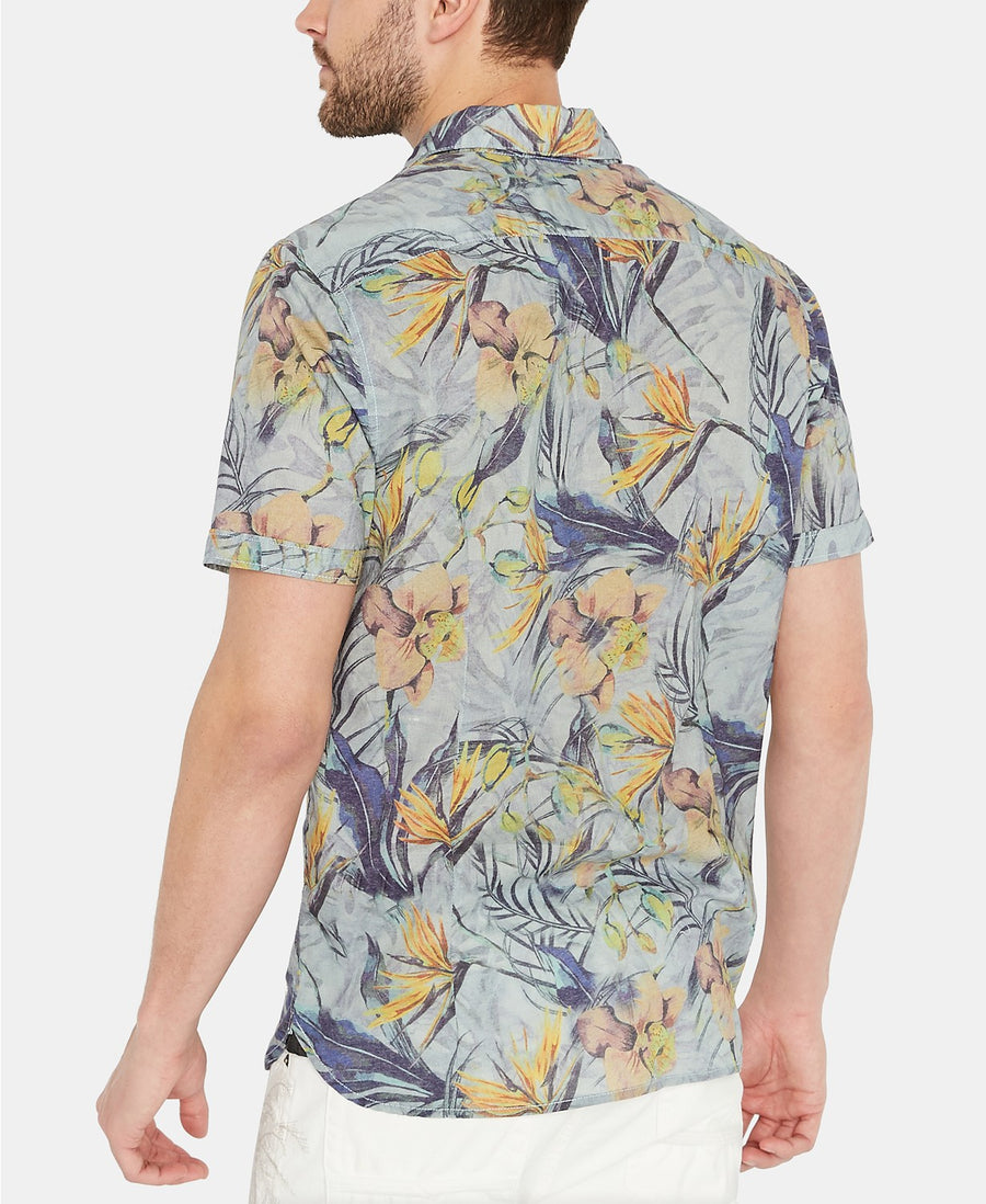 buffalo bird of paradise button up